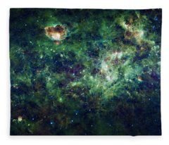 The Milky Way Fleece Blanket