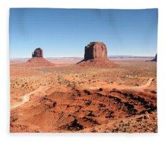 The Mittens Utah Fleece Blanket