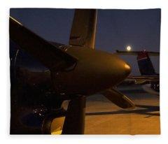 The Night II Fleece Blanket