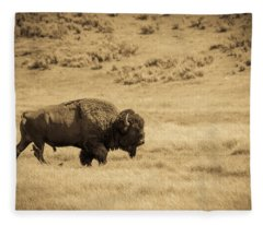 The Old Bull Fleece Blanket