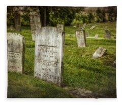 The Old Burial Ground Fleece Blanket