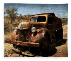 The Old Ford Fleece Blanket