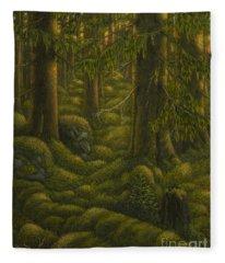 The Old Forest Fleece Blanket