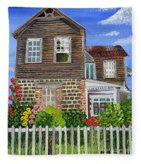 The Old House Fleece Blanket