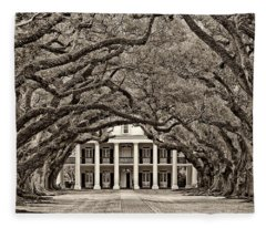 The Old South Sepia Fleece Blanket