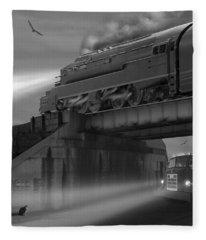 The Overpass Fleece Blanket