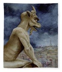 The Overseer Fleece Blanket