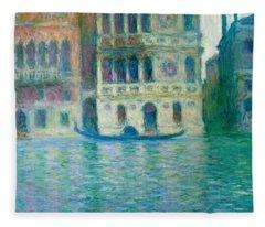 The Palazzo Dario - Venice Fleece Blanket