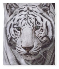 The Pale Hunter Fleece Blanket