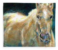 The Palomino Fleece Blanket