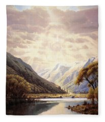 The Path Of Life Fleece Blanket