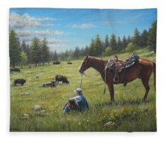The Perfect Day Fleece Blanket