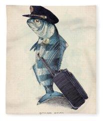 Fish Fleece Blankets
