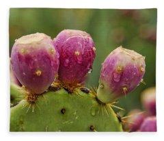 The Prickly Pear  Fleece Blanket
