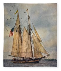 The Pride Of Baltimore II Fleece Blanket