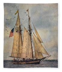 The Pride Of Baltimore II Fleece Blanket