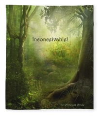 The Princess Bride - Inconceivable Fleece Blanket