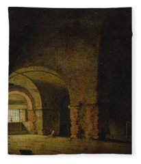 The Prisoner, C.1787-90 Oil On Canvas Fleece Blanket