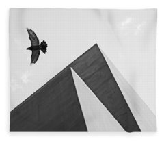 The Pyramids Of Love And Tranquility Fleece Blanket
