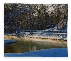 The River Bend Fleece Blanket