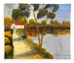 The Riverhouse Fleece Blanket