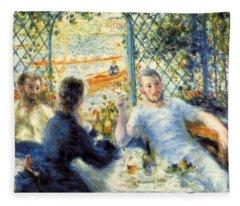 The Rower's Lunch Fleece Blanket