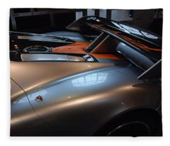 The Sculptured Rear 918 R S R Fleece Blanket