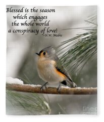 The Season Of Love  Fleece Blanket