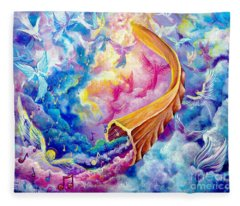 The Shofar Fleece Blanket