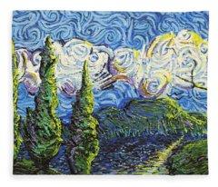 The Shores Of Dreams Fleece Blanket