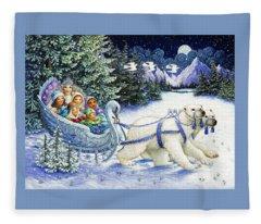 The Snow Queen Fleece Blanket