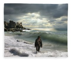 The Son Is The Radiance Of God's Glory Fleece Blanket