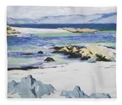 The Sound Of Mull From Iona Fleece Blanket