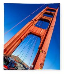 The South Tower Fleece Blanket