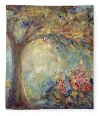 The Sparkle Of Light Fleece Blanket