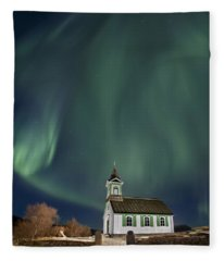 The Spirit Of Iceland Fleece Blanket
