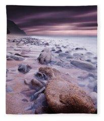 The Stone Land Fleece Blanket