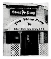 The Stone Pony Asbury Park Nj Fleece Blanket