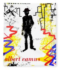 The Stranger Albert Camus Poster Fleece Blanket