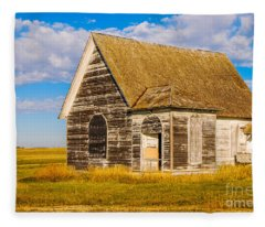 The Sunbeam Church Fleece Blanket