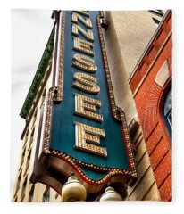 The Tennessee Theatre - Knoxville Tennessee Fleece Blanket