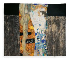 Human Interest Paintings Fleece Blankets