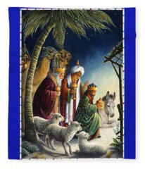 The Three Kings Fleece Blanket