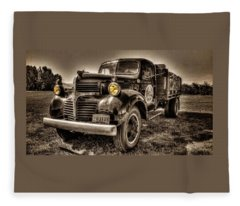 Tillamook Cheese Express Fleece Blanket
