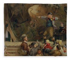 The Travelling Menagerie, 1872 Fleece Blanket