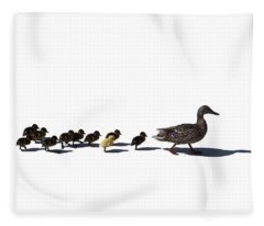 The Ugly Duckling  Fleece Blanket