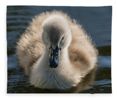 The Ugly Duckling Fleece Blanket