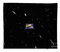 The Universe Expands As Your Thoughts Of It Expand Fleece Blanket