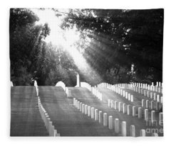 The Unknown Soldiers Fleece Blanket