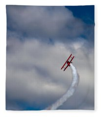 The Vapor Trail Fleece Blanket